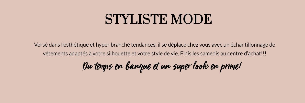 styliste mode-